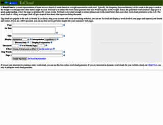 tocloud.com screenshot