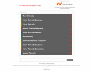 tocowarrantyprotection.com screenshot