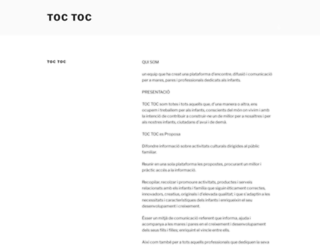 toctoc.cat screenshot
