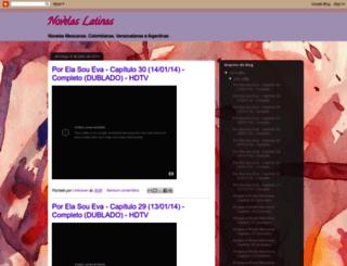 todasasnovelasinesqueciveis.blogspot.com.br screenshot