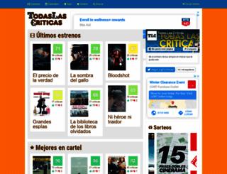 todaslascriticas.com.ar screenshot