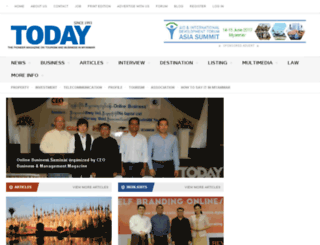today-myanmar.com screenshot