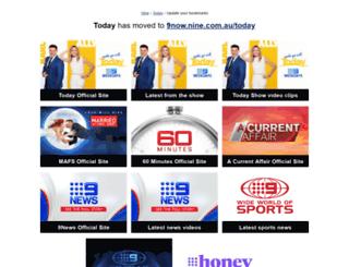 today.ninemsn.com.au screenshot