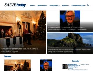 today.salve.edu screenshot