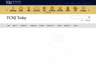 today.tcnj.edu screenshot