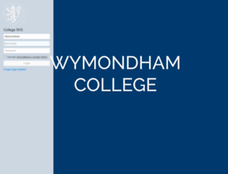today.wymondhamcollege.org screenshot