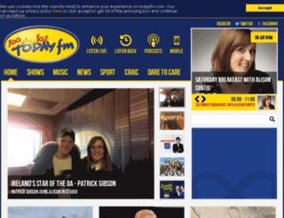 todayfm.ie screenshot