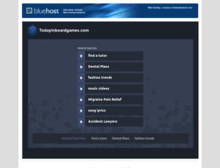 todayinboardgames.com screenshot
