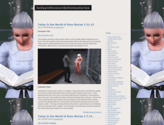 todayintheworldofsimsstories.wordpress.com screenshot