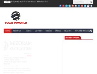 todayinworld.com screenshot