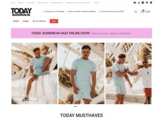 todayjeanswear.nl screenshot
