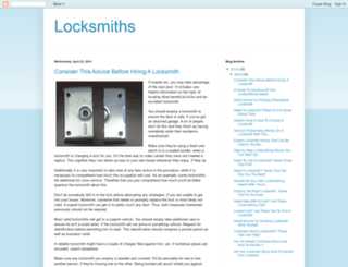 todaylocksandlocksmiths.blogspot.com screenshot