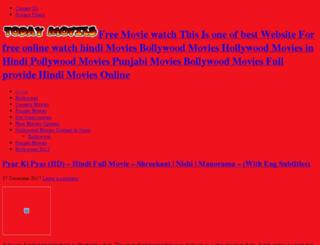 todaymovies.altervista.org screenshot