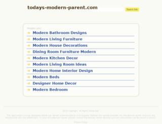 todays-modern-parent.com screenshot