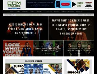 todayschristianmusic.com screenshot