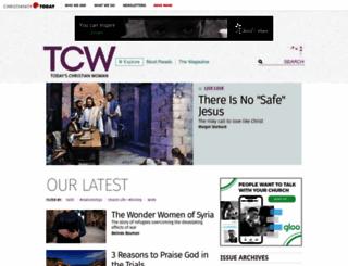 todayschristianwoman.com screenshot