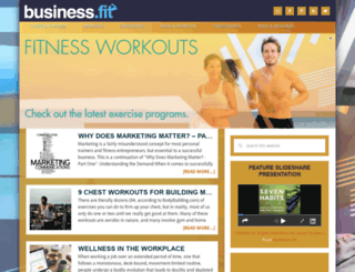 todaysfitnesstrainer.com screenshot