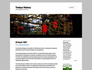 todayshistory.org screenshot
