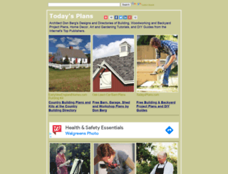 todaysplans.com screenshot