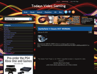 todaysvideogaming.com screenshot