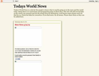 todaysworldnewsinfo.blogspot.com screenshot