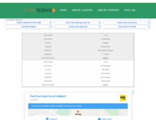 todaywalkins.com screenshot