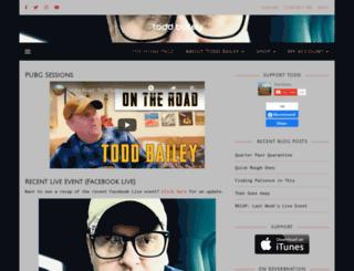 toddbaileymusic.com screenshot