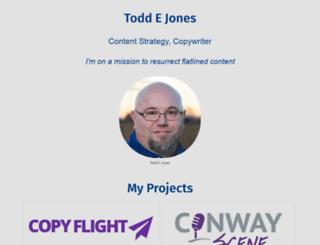 toddejones.net screenshot