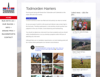 todharriers.co.uk screenshot