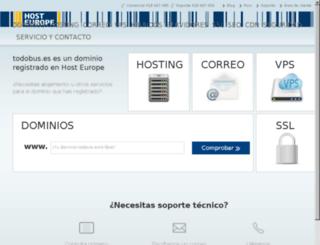 todobus.es screenshot