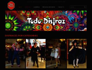 tododisfraz.com.ar screenshot