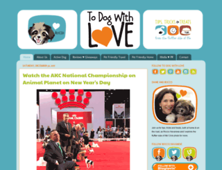 todogwithlove.com screenshot