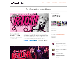 todolist.org.uk screenshot
