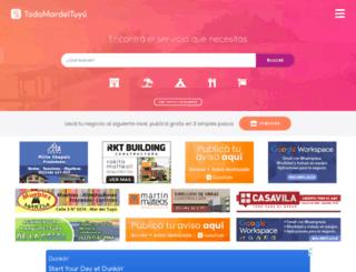 todomardeltuyu.com.ar screenshot