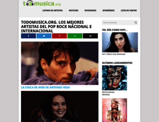 todomusica.org screenshot