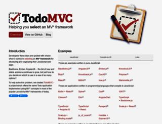todomvc.com screenshot