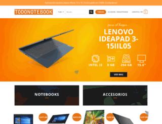 todonotebook.com.ar screenshot