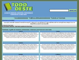 todooeste.com.ar screenshot
