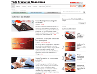 todoproductosfinancieros.com screenshot