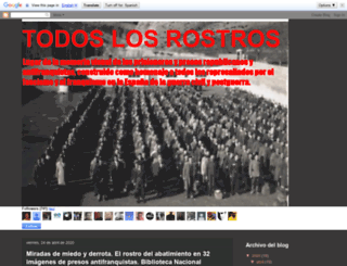 todoslosrostros.blogspot.com screenshot