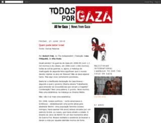todosporgaza.blogspot.com screenshot