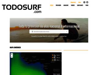 todosurf.com screenshot