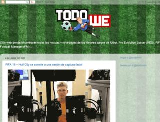 todowe.blogspot.com.ar screenshot
