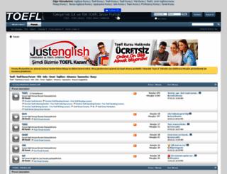 toefl.gen.tr screenshot