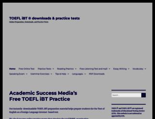 toeflibtcourse.com screenshot