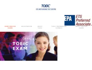 toeic-zurich.com screenshot
