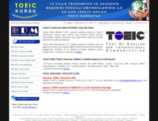 toeickursu.gen.tr screenshot