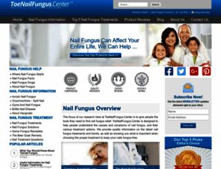 toenailfungi.org screenshot