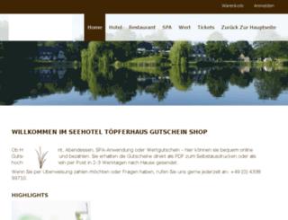 toepferhaus-shop.com screenshot