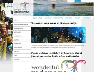 toerisme-indonesie.nl screenshot